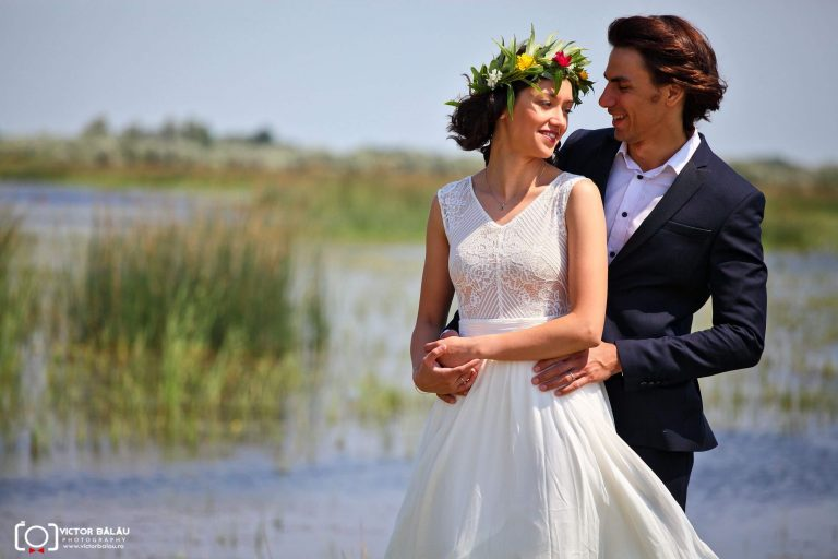 Roxana si Razvan - trash the dress